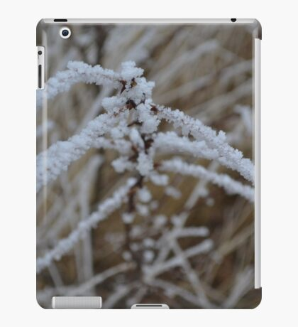 frosted stems  iPad Case/Skin