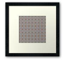 African nomad Framed Print