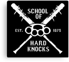 Irish Fight Club - School of Hard Knocks Canvas Print