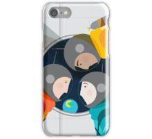 Astronauts in Space iPhone Case/Skin