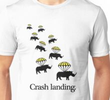 Crash Landing Unisex T-Shirt
