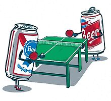 Beer Pong by ClassyThreads