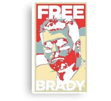 Free Tom Brady  Canvas Print