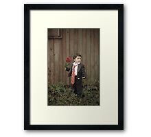 """Where's my date.....Come on!"""" Framed Print"""