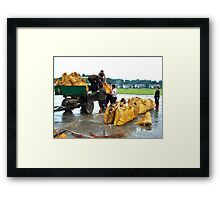 Hurry! (2) Framed Print