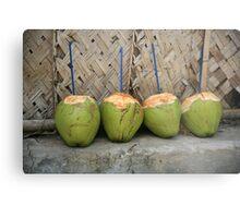 Coconut drinks Metal Print