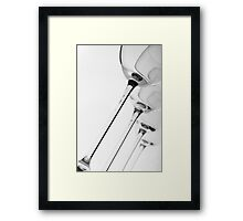 Four in a row revisited Framed Print