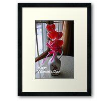 Happy Valentine's Day Framed Print
