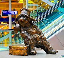 Paddington Bear: Paddington Station, London. UK. by DonDavisUK