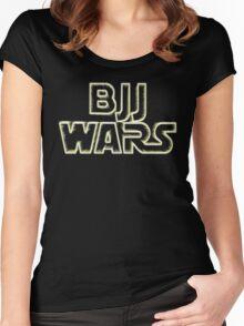 Brazilian Jiu Jitsu Wars Women's Fitted Scoop T-Shirt