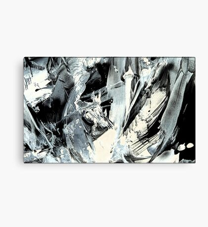 Underneath the sound of madness  Canvas Print