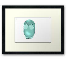Quaggan Framed Print