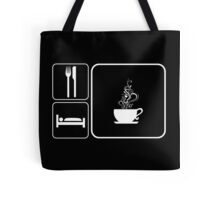 Food Sleep Tea Tote Bag