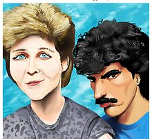 Maggie GyllenHall & Oates by ladypuns