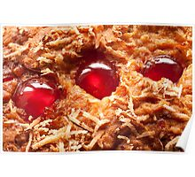 Cherry and Coconut Cake Poster