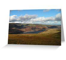 Lakeland Scenery - Cumbria Greeting Card