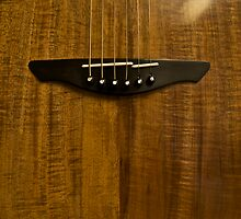 Australian Blackwood Guitar Grain by blueguitarman