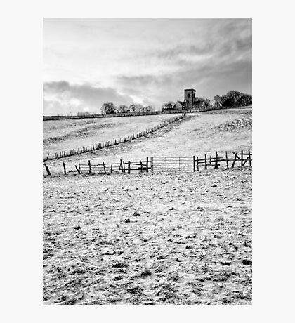 Kirk Merrington with Snow Photographic Print