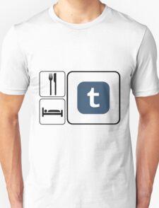 Food Sleep Tumblr T-Shirt