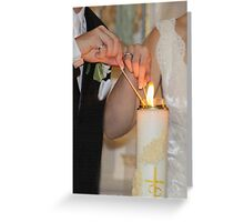 VOWS Greeting Card