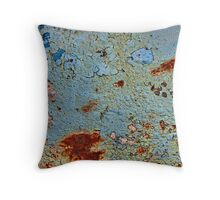 Strange apparitions appeared from the sky Throw Pillow