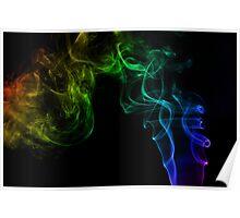 Smoke Trails II Poster