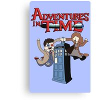 Adventures In Time Canvas Print