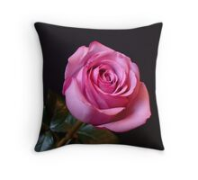 Candy Pink Throw Pillow