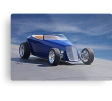 1933 Ford 'Stylized' Roadster Metal Print
