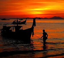 Krabi Sunset by Pippa Carvell