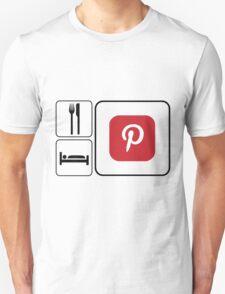 Food Sleep Pinterest T-Shirt