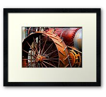 """Rusted from this Angle Two"" Framed Print"
