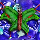 Chop Sticks and Fingers Butterfly by GolemAura