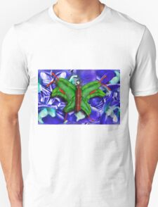 Chop Sticks and Fingers Butterfly Unisex T-Shirt
