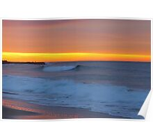 Garie Beach Sunrise Poster