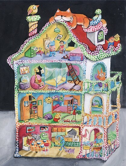 Magical Doll House by colonelle