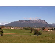 Mount Roland, viewed from Sheffield Tasmania Photographic Print