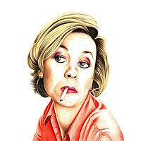 Pippa Haywood plays Joanna Clore from Green Wing Photographic Print