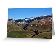 Border Country Greeting Card