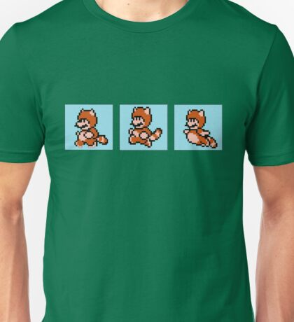 Tanooki - Run, Jump, Fly Unisex T-Shirt