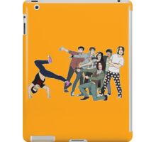 game grump squad points at markiplier iPad Case/Skin