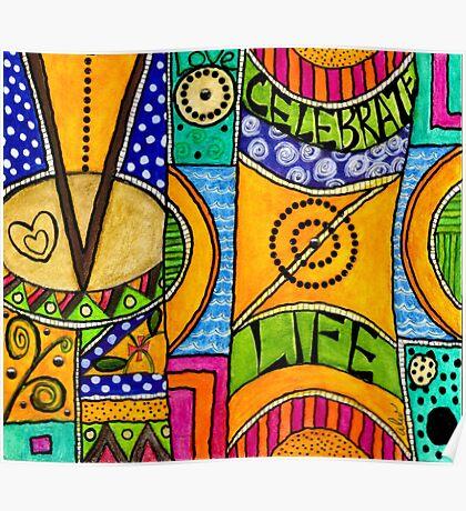 Living a VIBRANT Life Poster