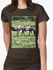 Tag Along Womens Fitted T-Shirt