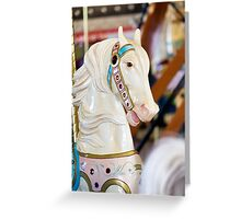 Carouse Horse #2 Greeting Card