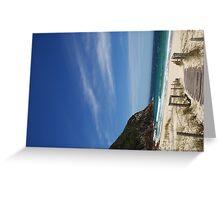 Zenith beach, Nelsons Bay, NSW, Australia (2) Greeting Card