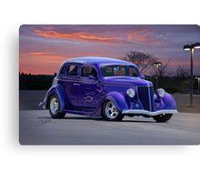 1936 Ford 'Flamin' Sedan Canvas Print
