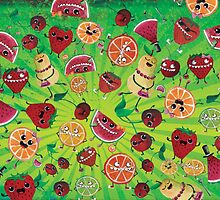 Crazy Fruit Madness by colonelle