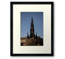 Scott Monument - Neo Gothic Framed Print