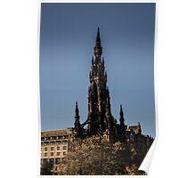 Scott Monument - Neo Gothic Poster