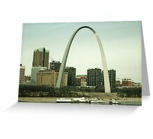 The Arch in St. Louis, Missouri Greeting Card